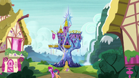 Castle of Friendship exterior at early afternoon S7E14