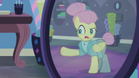 """Fluttershy """"severe but not unapproachable"""" S8E4"""