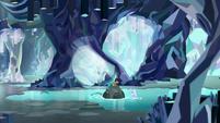 Gallus and Silverstream in the caverns S8E22