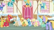 Images ponyville zimą