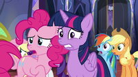 """Pinkie """"Is it okay to be nervous now?"""" S5E11"""