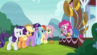 Pinkie Pie -if you enjoyed listening- S8E18