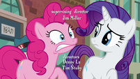 Pinkie Pie emphasizes on the T in --pssst-- S6E3