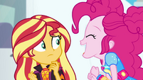 Pinkie shouts her name in Sunset's face EGSBP