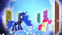 Princess Luna -it's been a busy night for us all- S5E4
