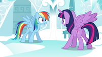 "Rainbow ""who later named the group the Wonderbolts!"" S4E21"