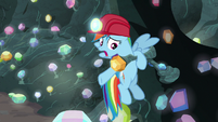 "Rainbow Dash ""it's stuck!"" S8E17"