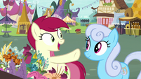 Rose selling flowers to Shoeshine S7E19