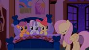 S01E17 Fluttershy kładzie spać Znaczkową Ligę