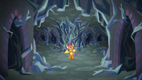 Smolder alone in the caves S8E22