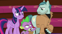 """Spike """"best acting we've seen all day"""" S8E7"""