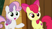 Sweetie Belle -they could help each other!- S7E21
