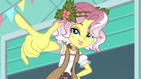 Vignette Valencia pointing at Rarity EGROF