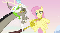 Discord points to the Element of Kindness S03E10