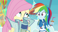 """Fluttershy """"anyone else in the entire park"""" EGROF"""