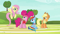 """Fluttershy """"you're a natural at buckball"""" S6E18"""