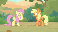 Fluttershy clearing her throat S8E23
