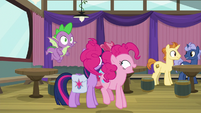 """Pinkie Pie """"my first time ever playing"""" S9E16"""