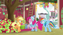 Pinkie Pie excited about her idea BGES1