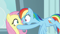 """Rainbow Dash """"you want to talk about"""" S9E21"""