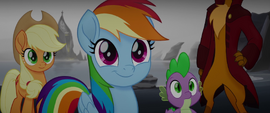 Rainbow Dash flattered by Mullet's praise MLPTM