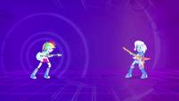 Rainbow Dash gains the upper hand EG2