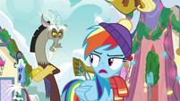 "Rainbow sarcastic ""still helping"" MLPBGE"