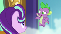 Spike -things don't usually end well- S8E15