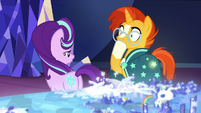 "Starlight answers ""no""; Sunburst shocked S8E8"