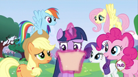 Twilight reading invitation S2E25