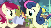 Bon Bon buying a cactus from Rose S8E12