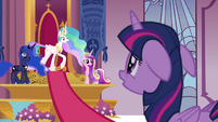 "Celestia ""we will not be able to stop him"" S4E25"