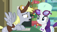 """Derpy """"what if she opens it?!"""" MLPBGE"""