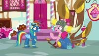 Pinkie Pie -random thing to bring up- S8E18