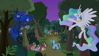 Princesses make path to Filly Guides camp S9E13