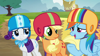 Rainbow Dash suggests a Derby do-over S6E14