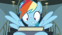 Rainbow shocked by book description S9E21