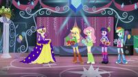 Rarity's masquerade theme EG2