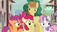 """Scootaloo """"I don't think Big Mac's ready to leave"""" S7E8"""