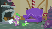 Spike looks for Pinkie Pie S03E11