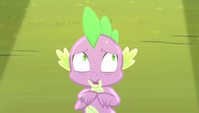 Spike wishing the song was over S4E24