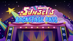 Sunset's Backstage Pass title card2.png