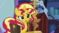 "Sunset Shimmer ""would be okay with that?"" EGS3"