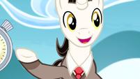 "Timekeeper ""Ponyville qualifies!"" S4E10"