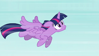 "Twilight flying ""woo-hoo!"" S4E01"