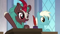 Unnamed kirin in Scootaloo's class S9E26