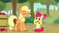 Apple Bloom gasping with delight S9E10