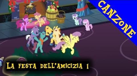 ITALIAN My Little Pony Canzone La festa dell'amicizia è già qui (INTRO) +Lyrics CC HD