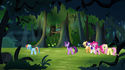 """Main ponies """"are you with us or not?"""" S4E04"""