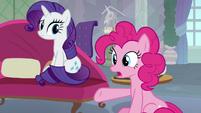Pinkie Pie suggesting Fluttershy S8E9